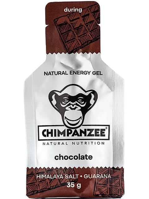 Chimpanzee Energy Gel Box 25x35g Schokolade mit Himalaya Salz (Vegan)